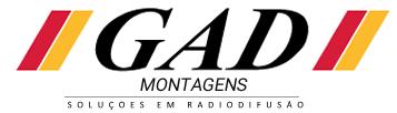 Gad Montagens Soluções em Radiodifusão Logo